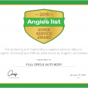 We've happily received AngiesList Super Service Award! Eight years and counting! Thanks to you!